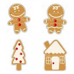 Gingerbread Cookie - GS