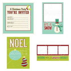 Peppermint Holiday - Photo Cards - PR