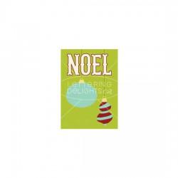 Noel Ornaments - Card - PR