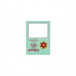Peace and Happiness - Photo Card - PR