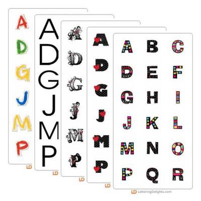 Top 10 Alphabets of 2009 Bundle