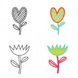 Funky Flowers - CL