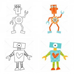 Funky Robots - CL