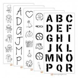 School Spectacular Font Set