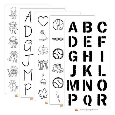 School Spectacular Font Set