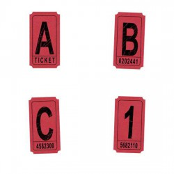 Tickets-Red - AL