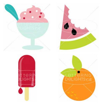 Summer Popsicles & Treats - GS