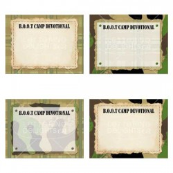 Girls Camp Boot Camp - Devotionals Blank - PR