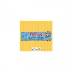 Girls Camp Thanks - Candy Bar Wrapper - PR