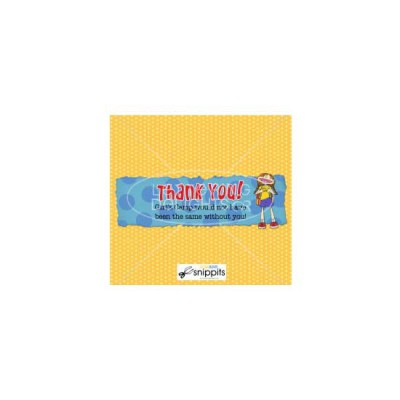 Girls Camp Thanks - Candy Bar Wrapper - PR