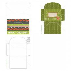 Christmas Pattern - Card - PR