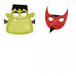 Spooky Soiree - Masks - PR