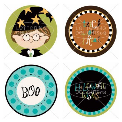 Best Witches - Cupcake Toppers - PR