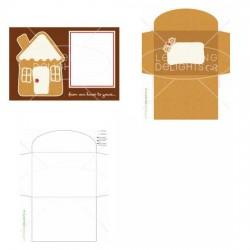 Gingerbread House - Photo Card - PR