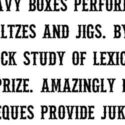 LD Petticoat Black - Font