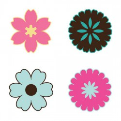 Simple Flower Shapes - SV