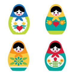 Matryoshka Dolls - SV