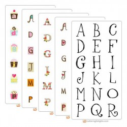 Top 10 Alphabets of 2010 Bundle