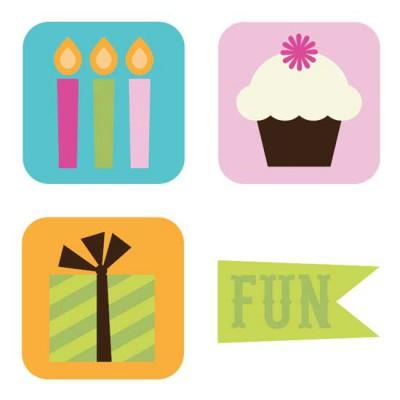 Birthday Sparkles - SV