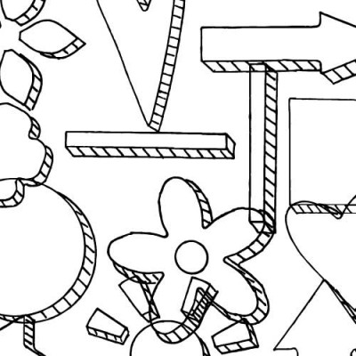 DB Doodle Sketch - DB