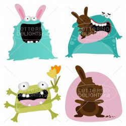 Easter Beasties - GS