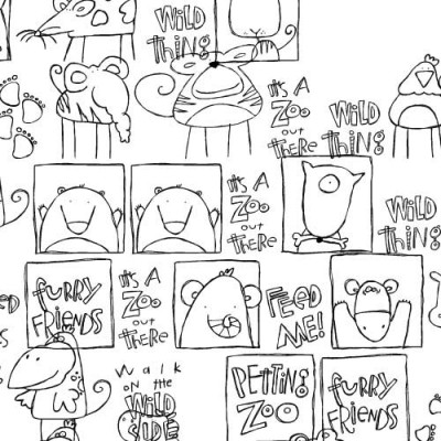 DB Wild Things Doodles - DB