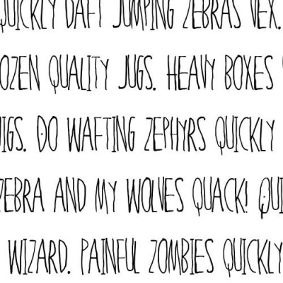 LD Wild Child - Font