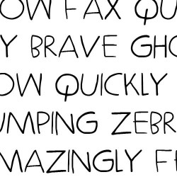 LD Simple Things - Font
