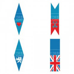 Royal Wedding - Pennants and Toppers - PR