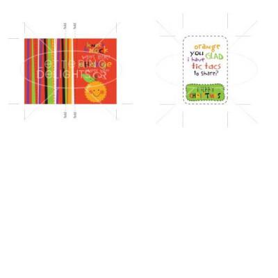 Orange You Glad Christmas Tic Tac Cover - PR