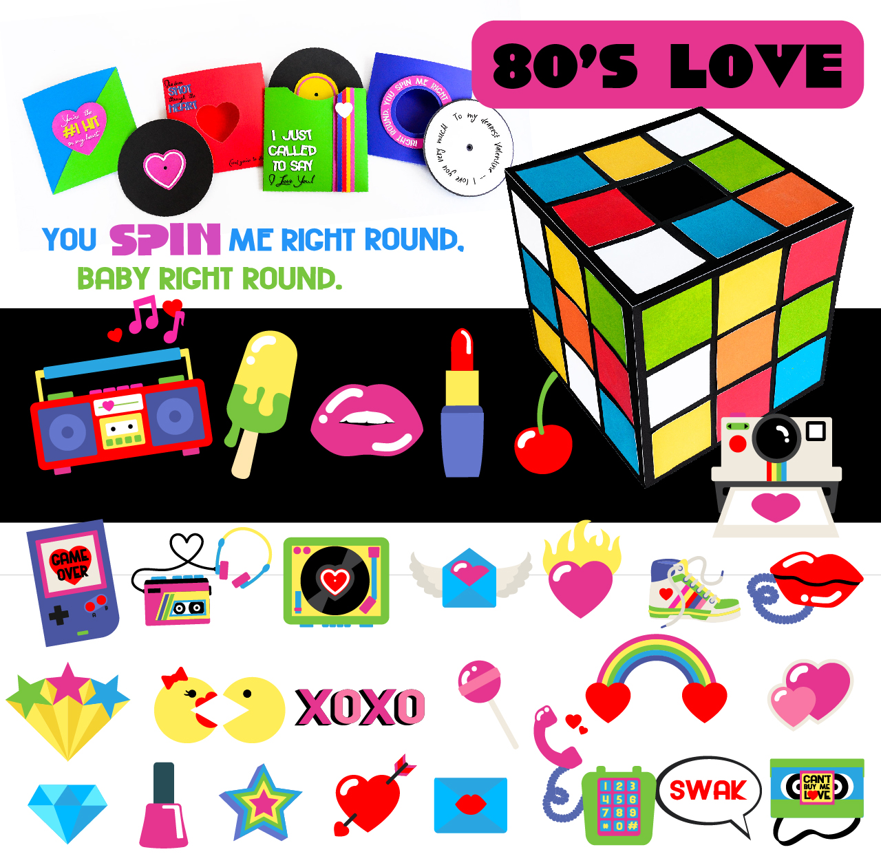 Earn the 80's Love - Promotional Bundle - Free