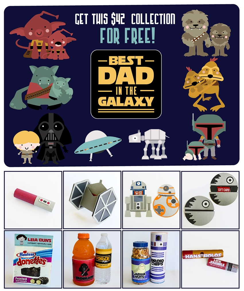 Earn the Best Dad in the Galaxy - Promotional Bundle - Free