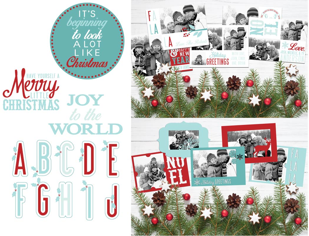 Earn the Christmas Card Elements - Promotional Bundle - Free