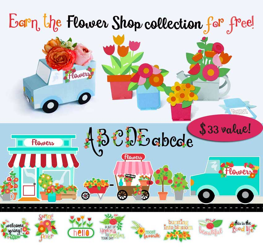 Earn the Floral Shop Bundle - Free