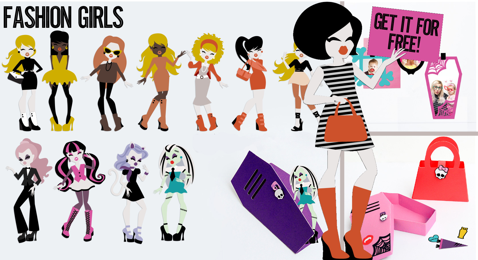 Earn the Fashion Girls - Promotional Bundle - Free