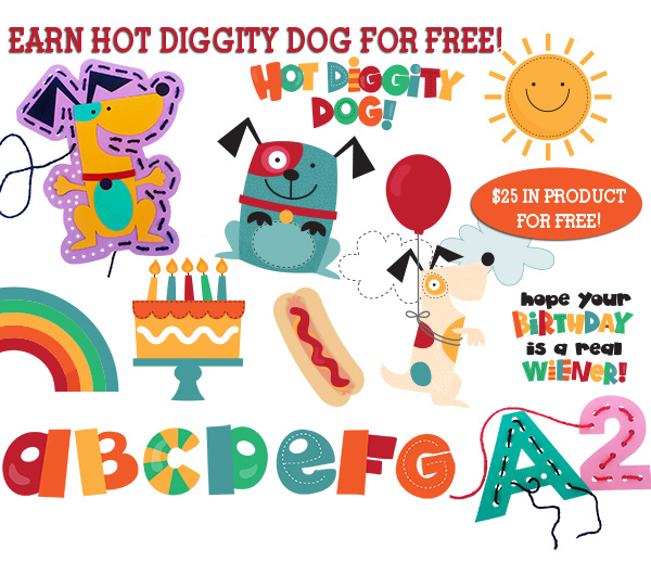 hot diggity dog free product