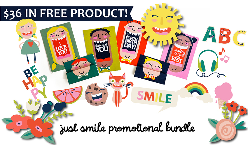 Earn the Just Smile - Promotional Bundle - Free