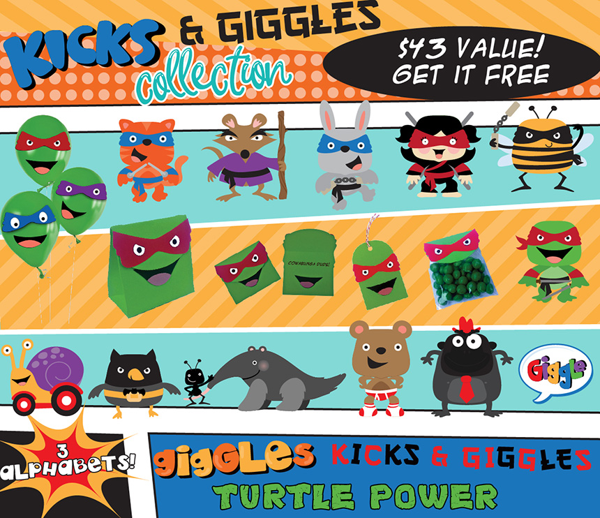 Earn the Kicks and Giggles Bundle - Free