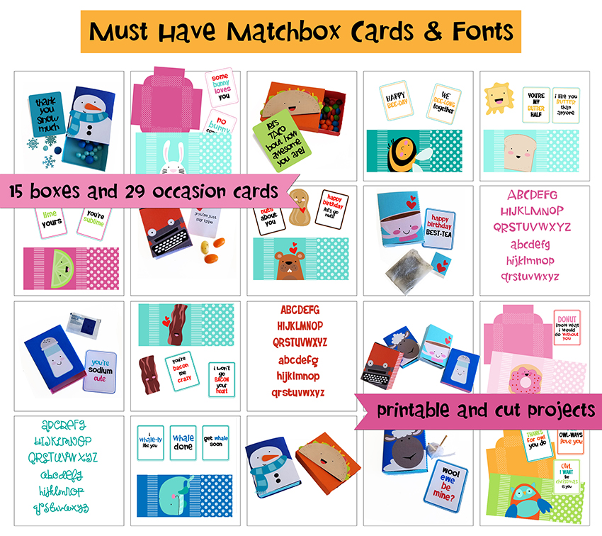 Earn the Must Have Matchbox Cards - Promotional Bundle - Free