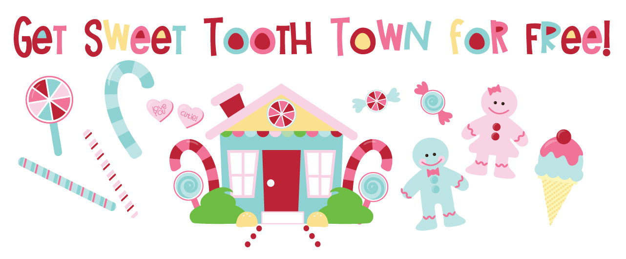Earn the Sweet Tooth Town - Promotional Bundle - Free