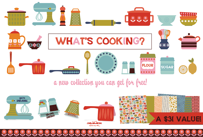 Earn the What's Cooking - Promotional Bundle - Free
