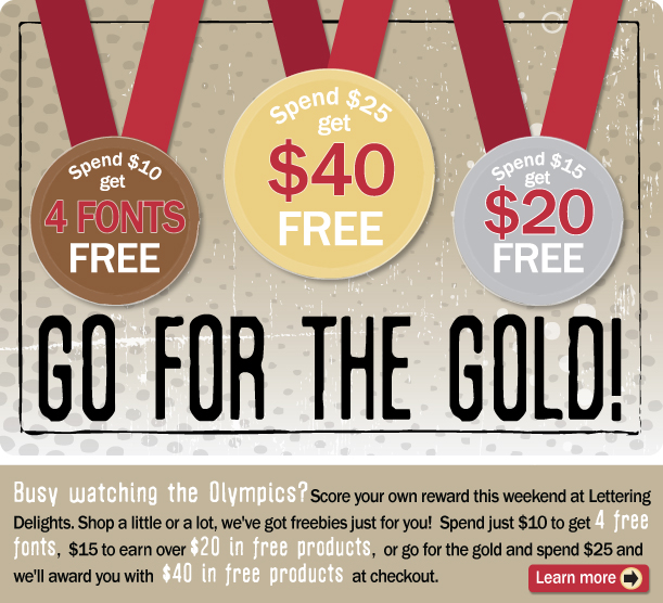 Go for the Gold Olympic freebies