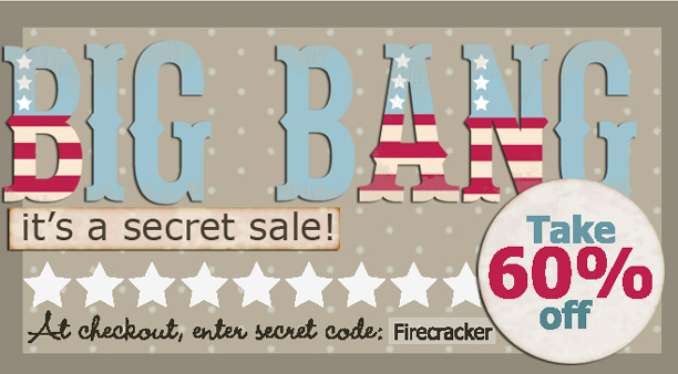 Big Bang It's a Secret Sale!