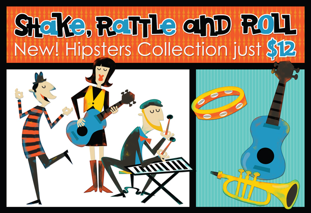 New! Hipsters Collection just $12
