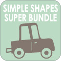 Simple Shapes Super Bundle