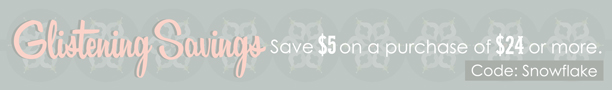 Save $5 on a purchase of $24 or more