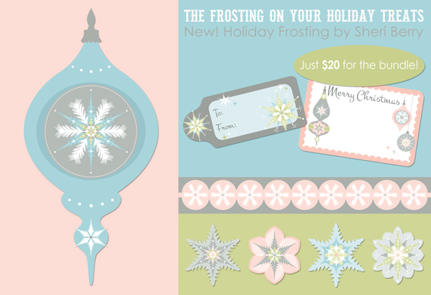 New! Holiday Frosting by Sheri Berry