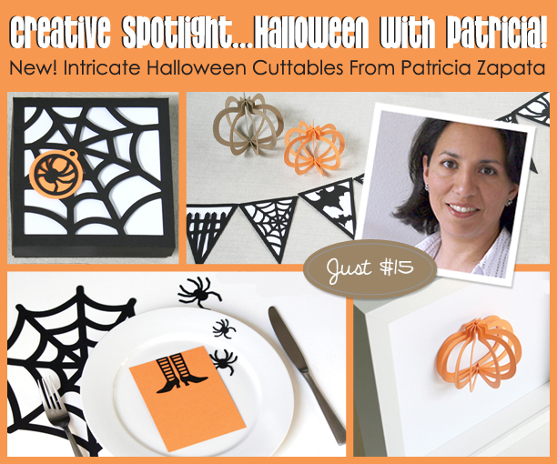 Patricia Zapata's Intricate Halloween Cuttables