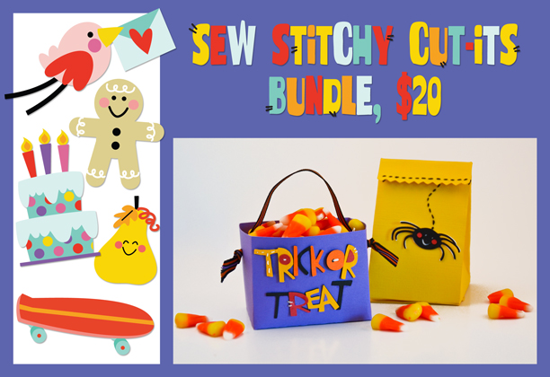 Sew Stitchy Cut-Its Bundle