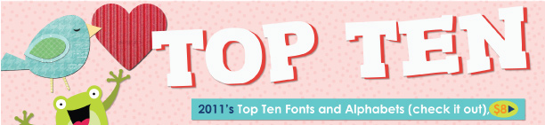 Top Ten Fonts and Alphabets